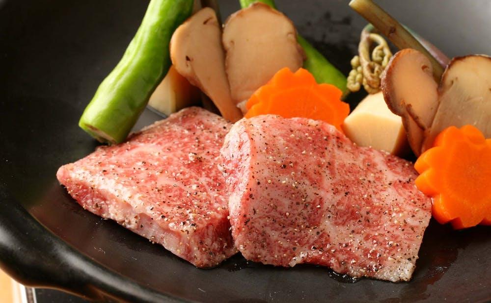 「赤坂松葉屋」の料理