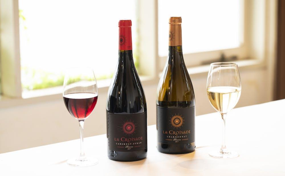「オテル・ドゥ・ミクニ」のワイン