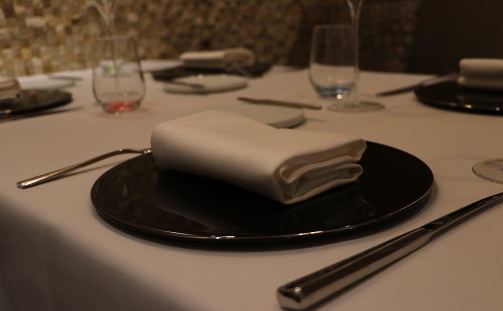 「Restaurant L'affinage」のカラトリ
