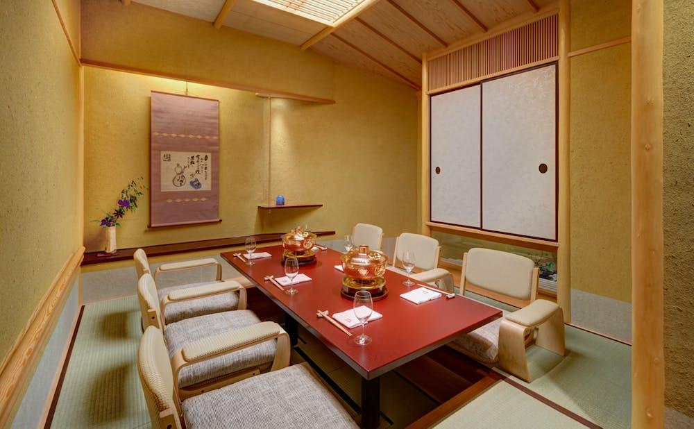 東京ガーデンテラス紀尾井町 紀尾井テラスの個室