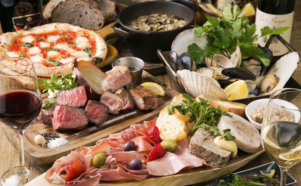 「GABURI SHARE ‐ガブリシェア‐ 渋谷」の料理