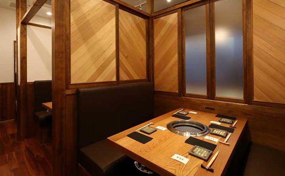 「誇味山」の個室