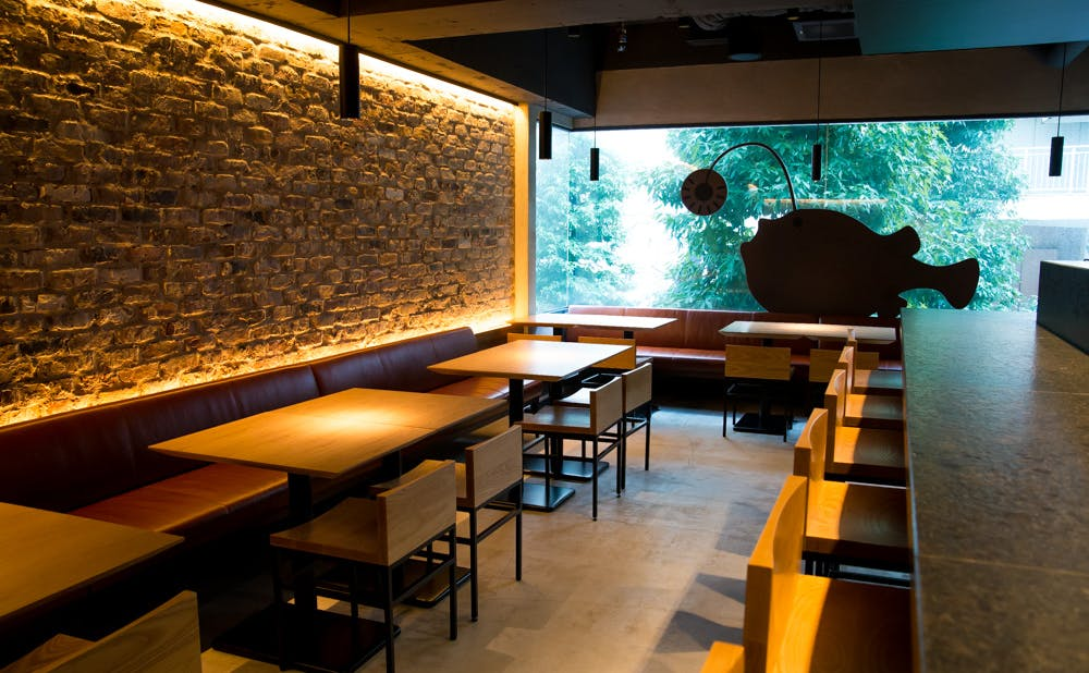 「KINKA sushi bar 渋谷」 のメインダイニング