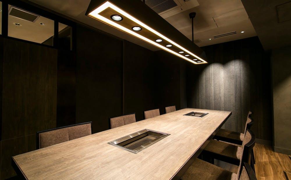 「USHIGORO S. 西麻布」の個室