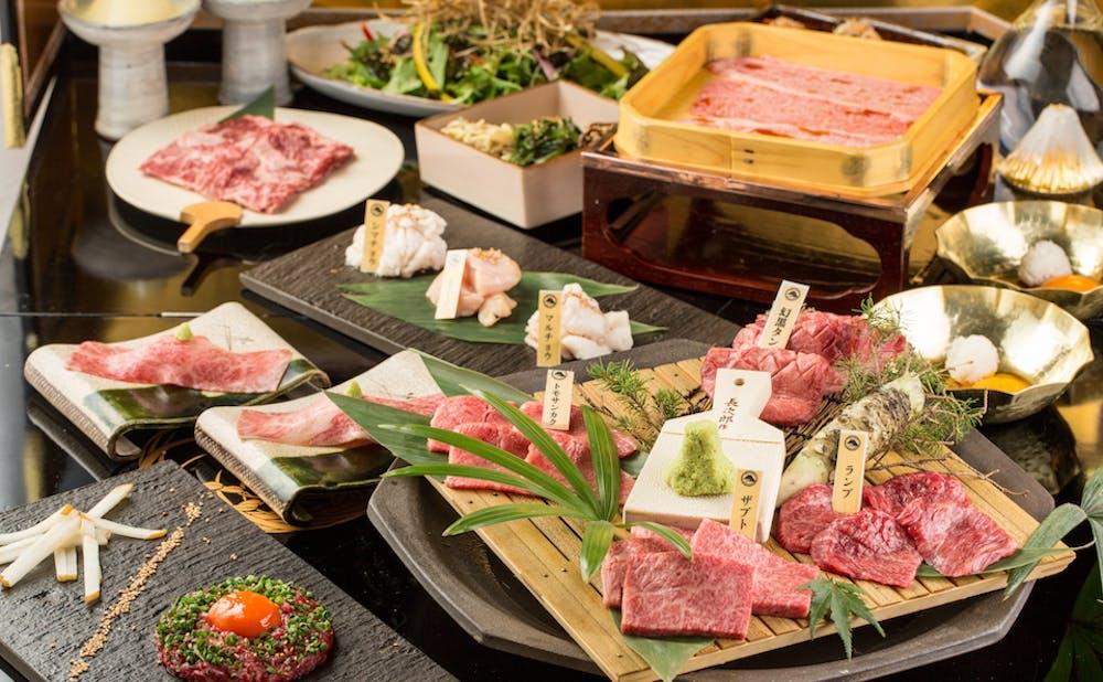 「渋谷 焼肉 富士門」のお肉