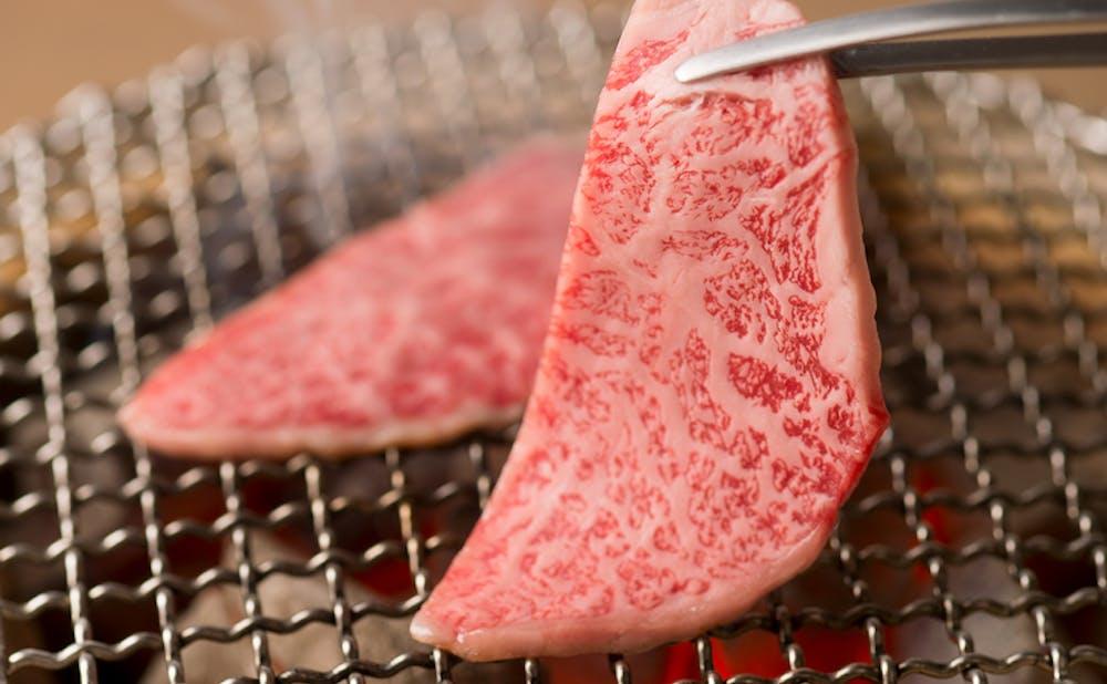 「焼肉 白炭」の肉