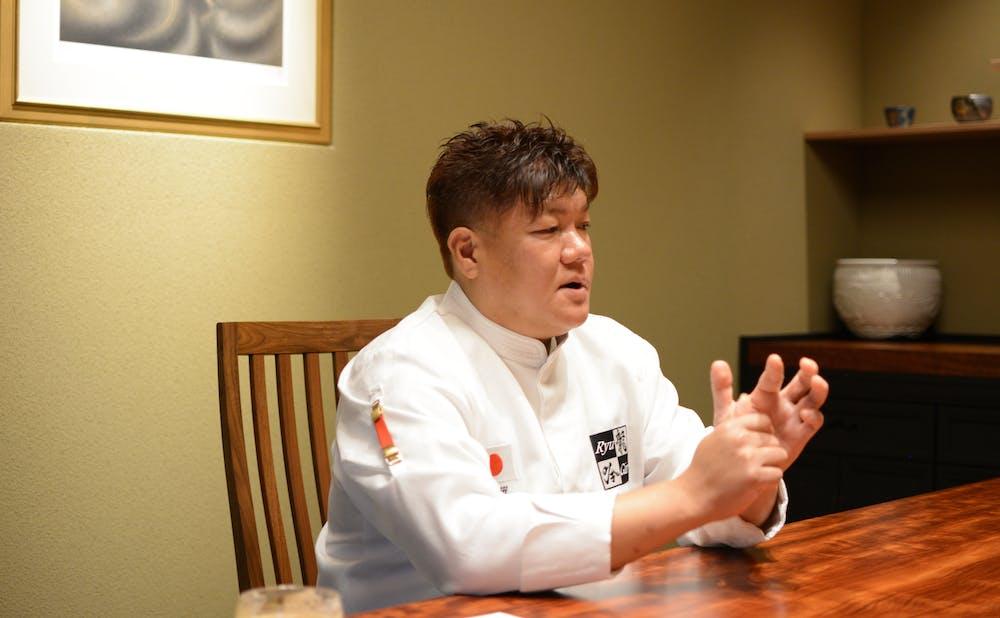 「日本料理 龍吟」の店主・山本征治宇治