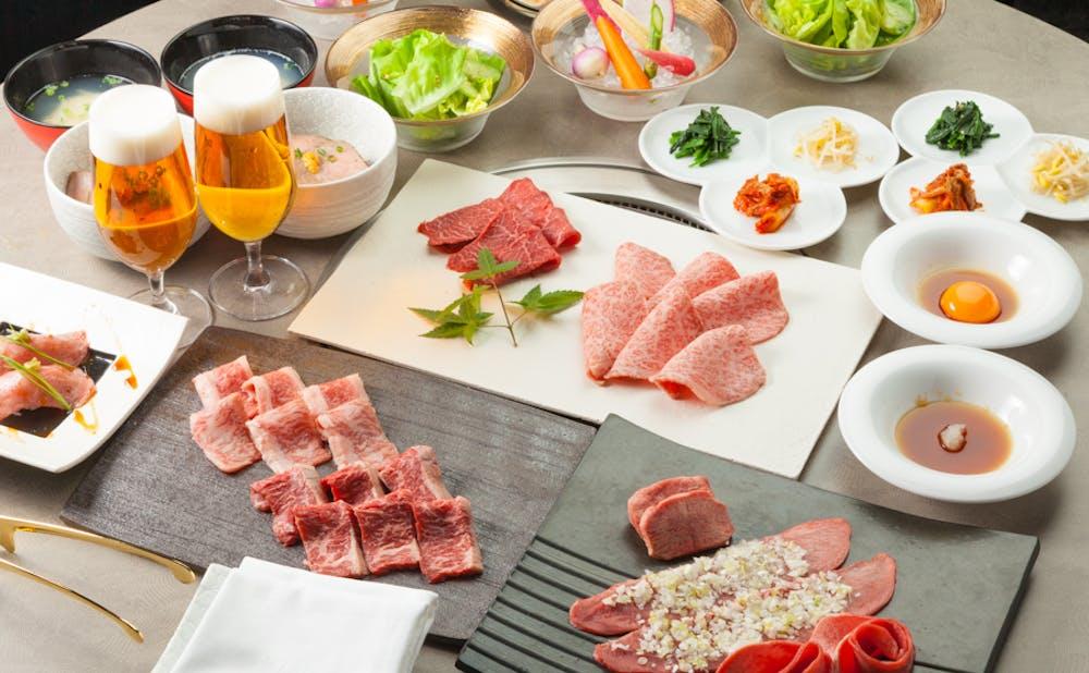 「銘柄高級焼肉 MASU」の肉