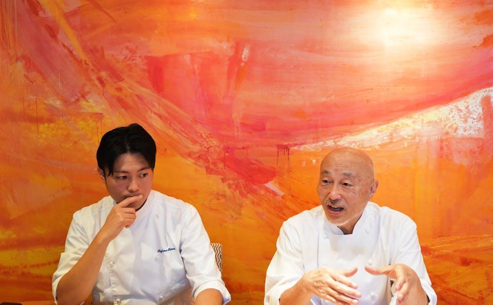 「オトワレストラン」の音羽和紀氏と音羽元氏