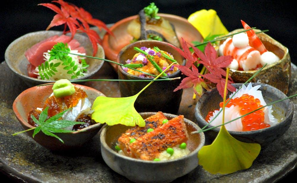 「日本料理 龍吟」の料理