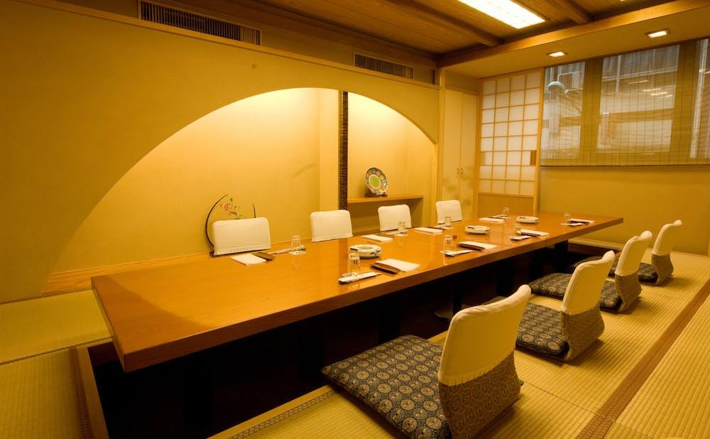 「銀座 吉澤」の個室