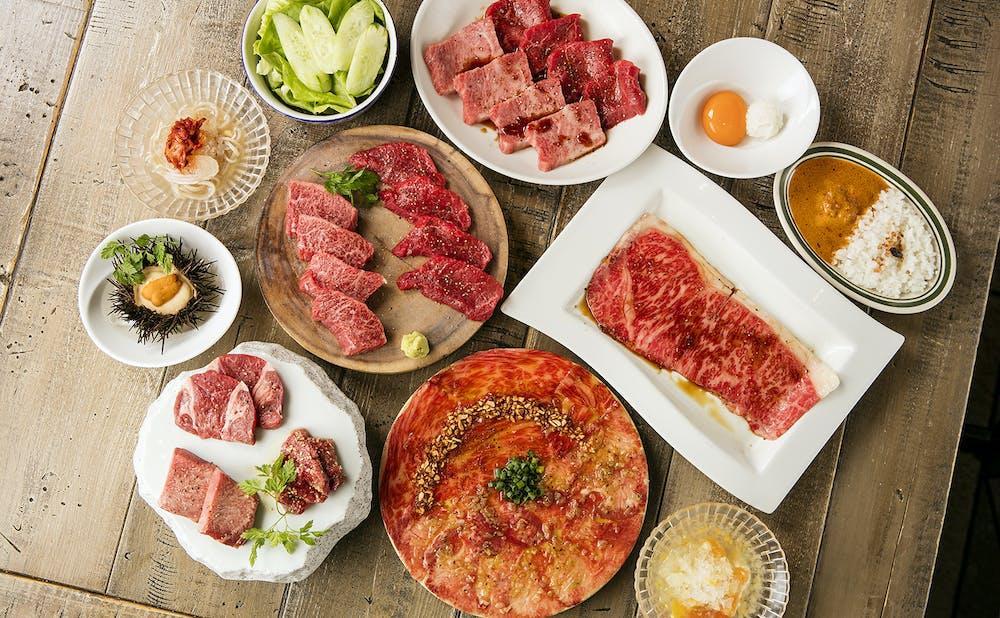 「六本木 焼肉 Kintan」の肉