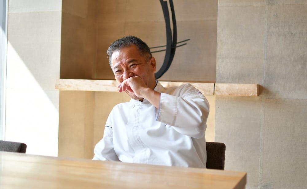 日本料理「和田倉」の宮部敬二料理長