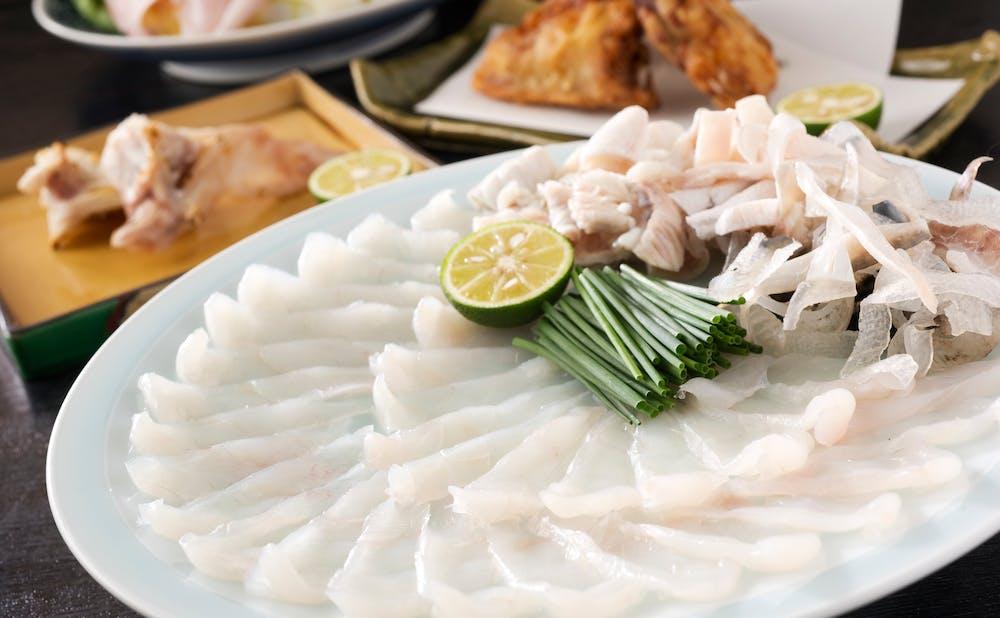 「ふぐ 福治」の料理