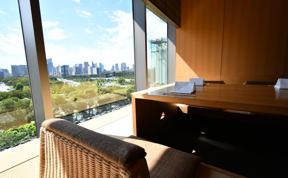 日本料理「和田倉」からの眺め