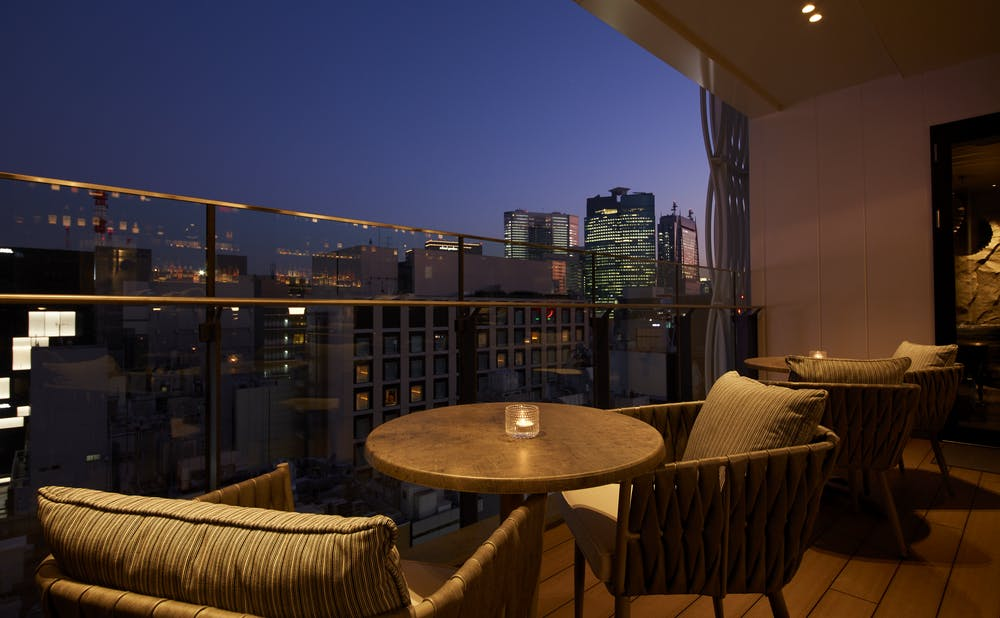 SPICE LAB TOKYO & THE GREY ROOMの夜景
