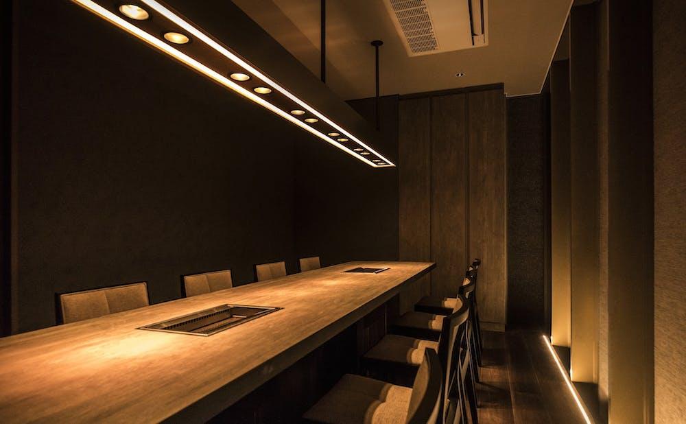 USHIGORO S. Ginzaの個室