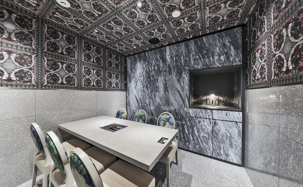 銀座 焼肉 Salon de AgingBeef(サロン ド エイジングビーフ)の個室