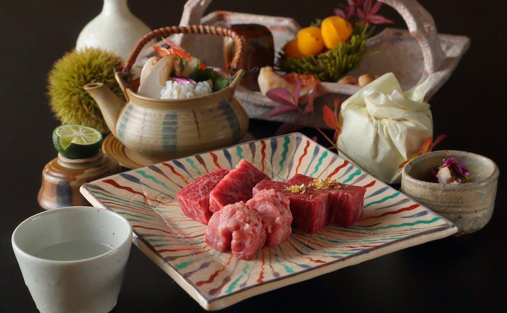 日本焼肉 はせ川 銀座店の肉