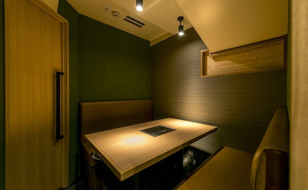 焼肉 強小亭 GINZAの個室