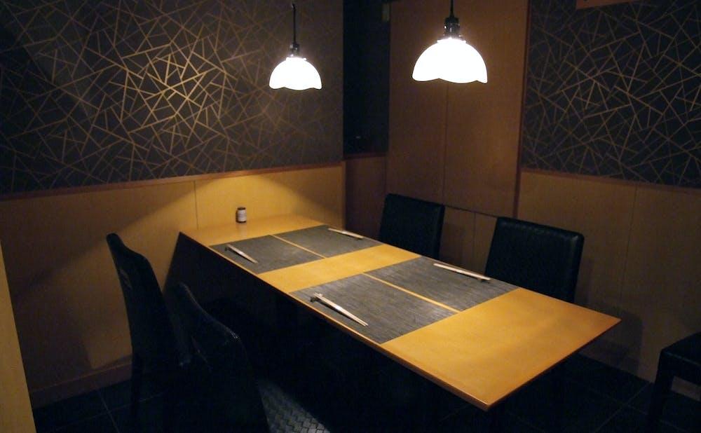 寿司割烹 濤崎の個室