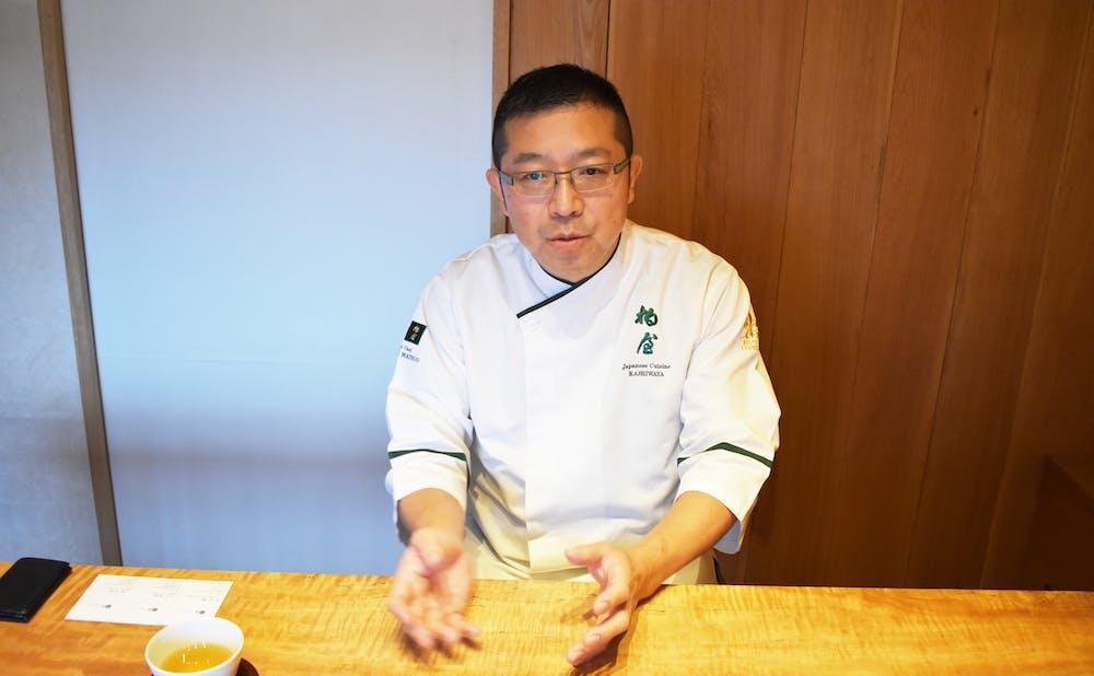 「柏屋」松尾 英明氏