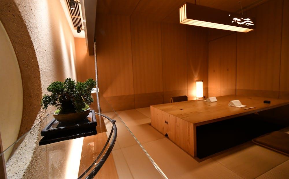 日本料理「和田倉」の個室