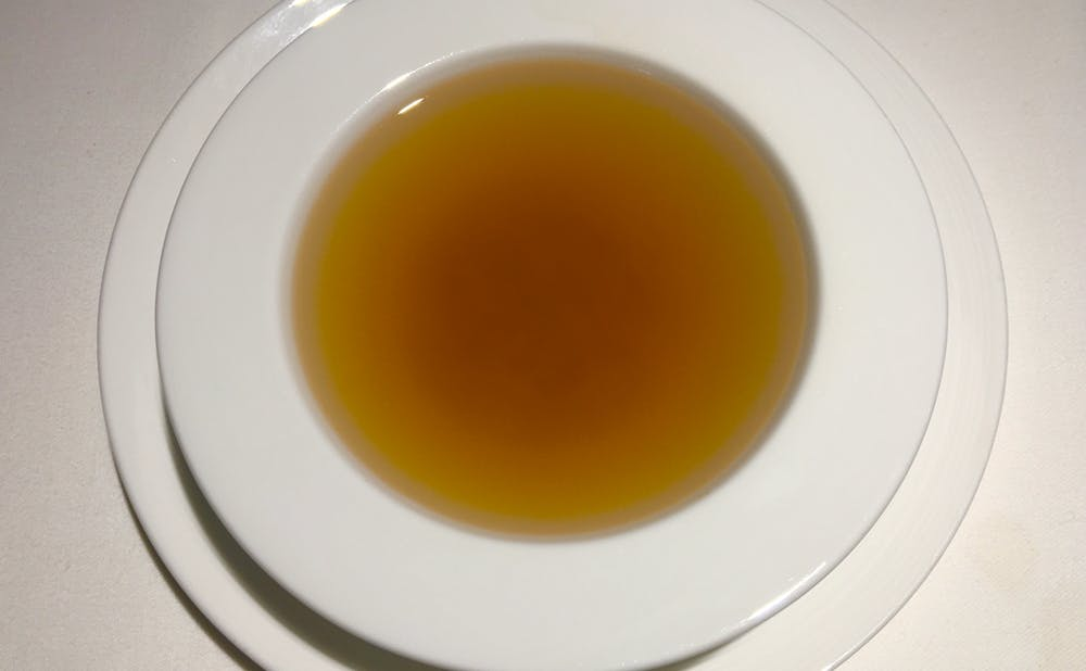 「食文化サロン 白金劉安」の漢方スープ