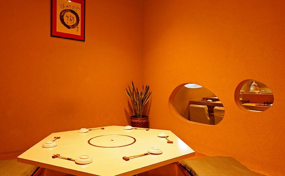 碧海の個室