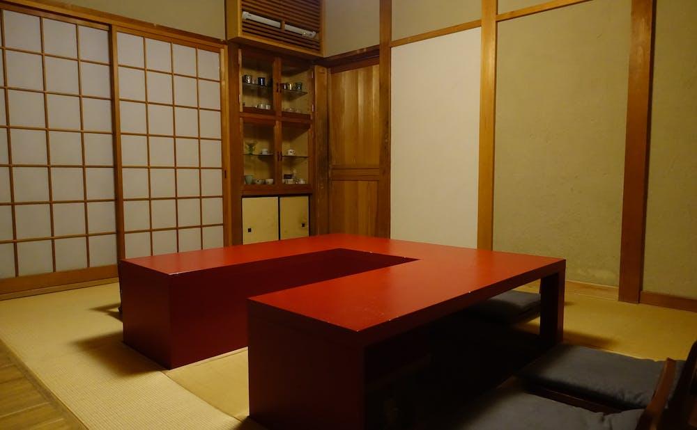 鮨処 たかの個室