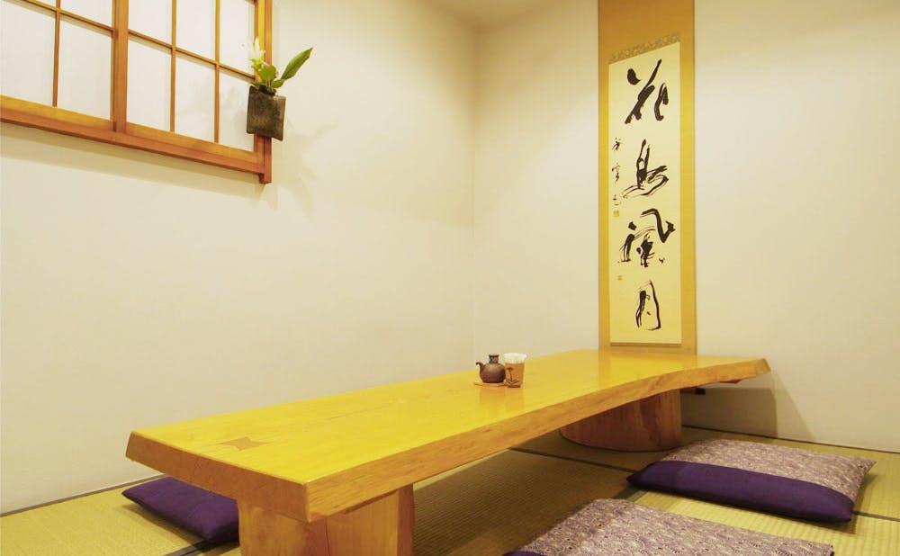鮨 喜一の個室
