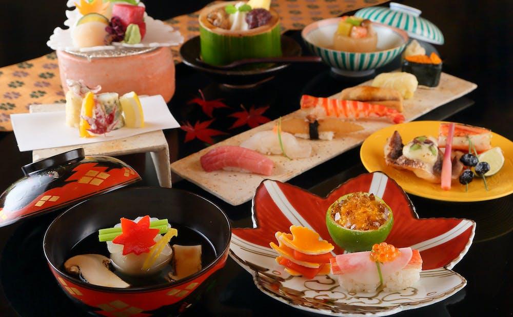 寿司はせ川 西麻布店の料理