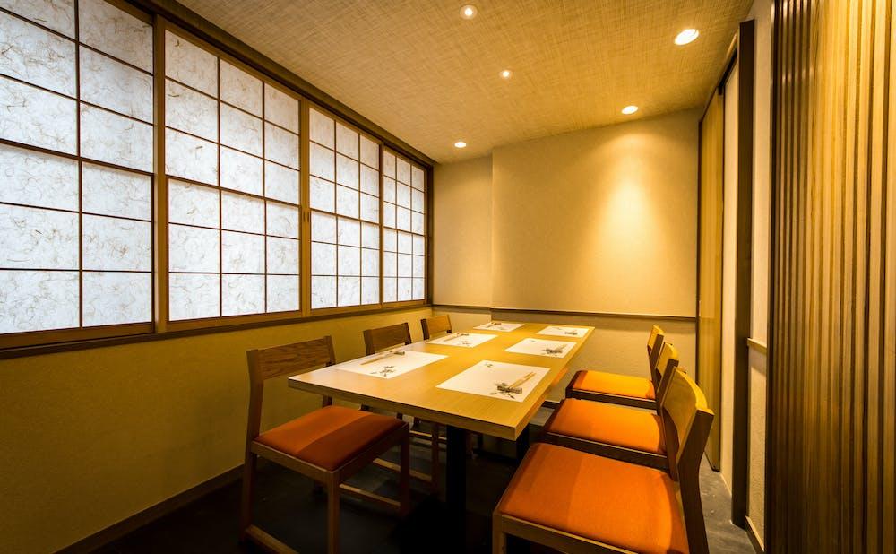 赤坂 鮨葵の個室