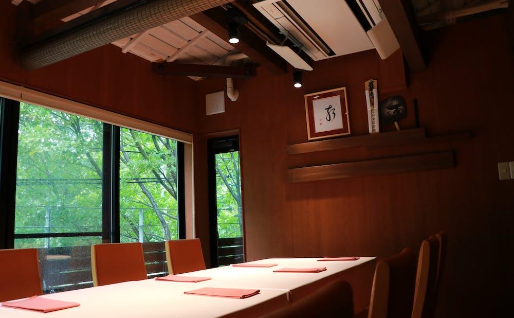 「食文化サロン 白金劉安」の個室