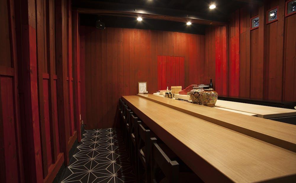 海栗BAR Kai一章の個室