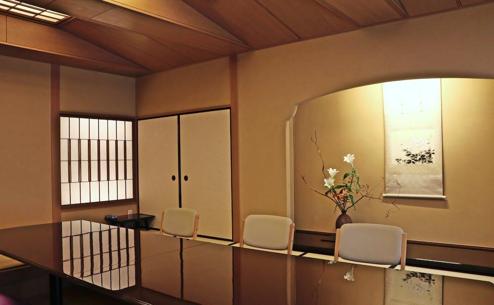 「赤坂浅田」の個室