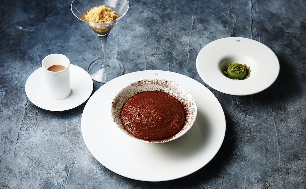 「ピエール・ガニェール」の料理