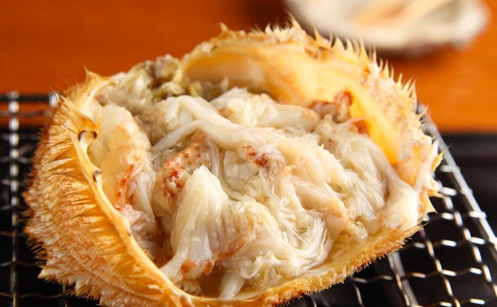「六丁目 蟹みつ」のカニ料理