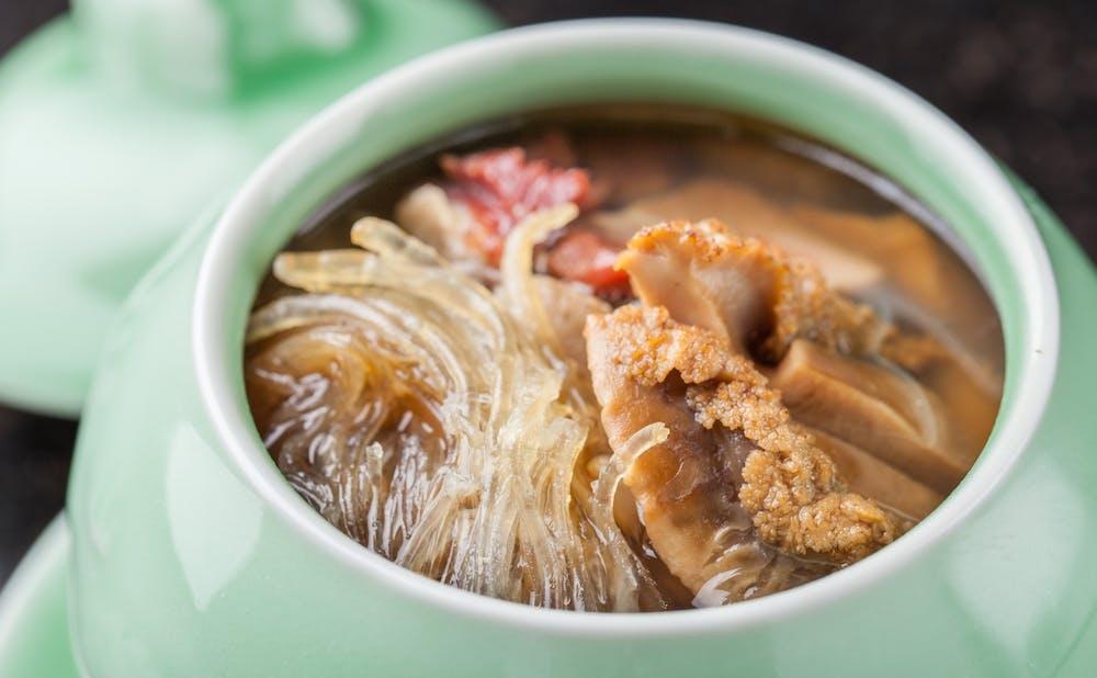 中華たかせの料理