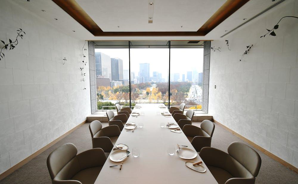 「エステール/パレスホテル東京」の個室