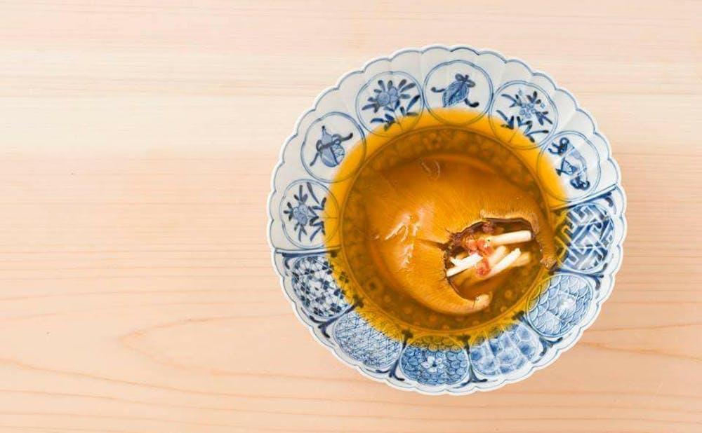 銀座 やまの辺 江戸中華の料理