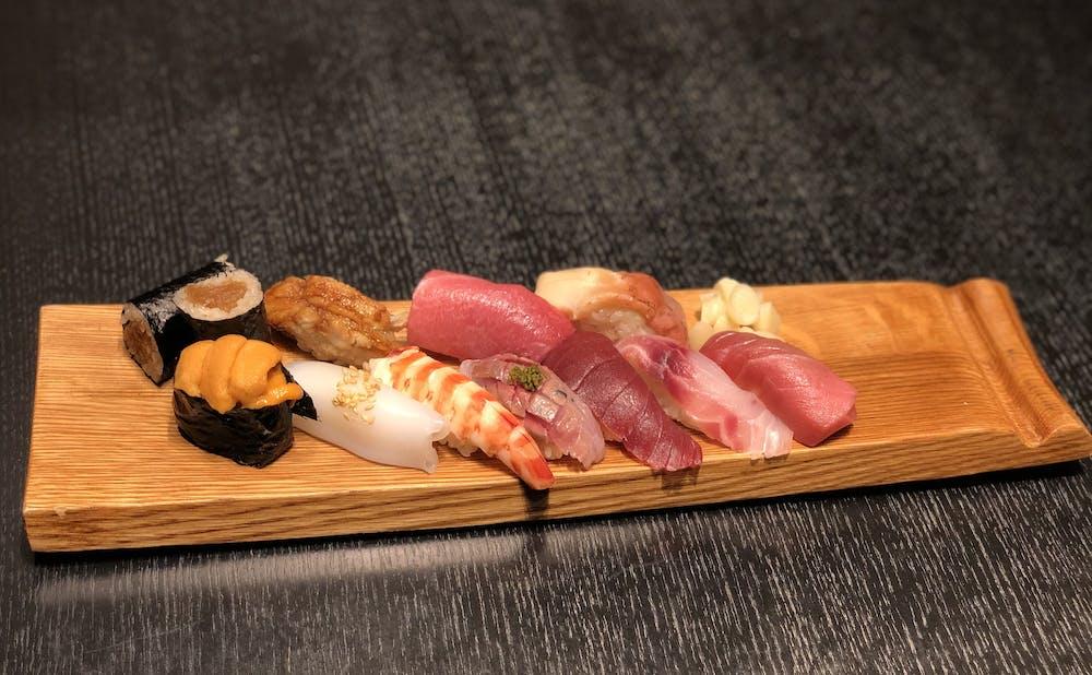 麻布十番松栄寿司のテイクアウトメニュー