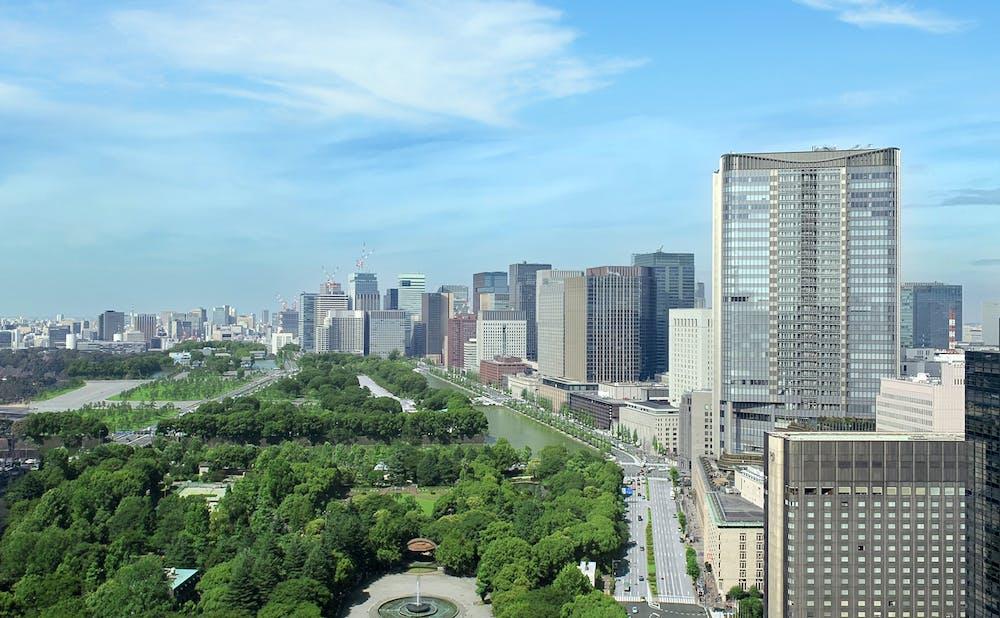 日比谷聘珍樓からの眺望