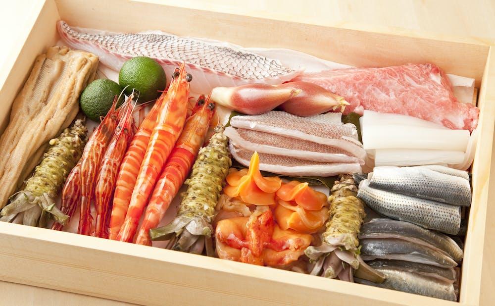 六本木 鯛良の寿司ネタ