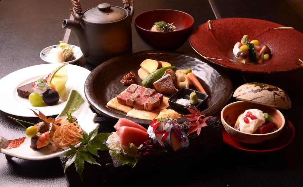 和食鉄板 銀座 朔月の料理