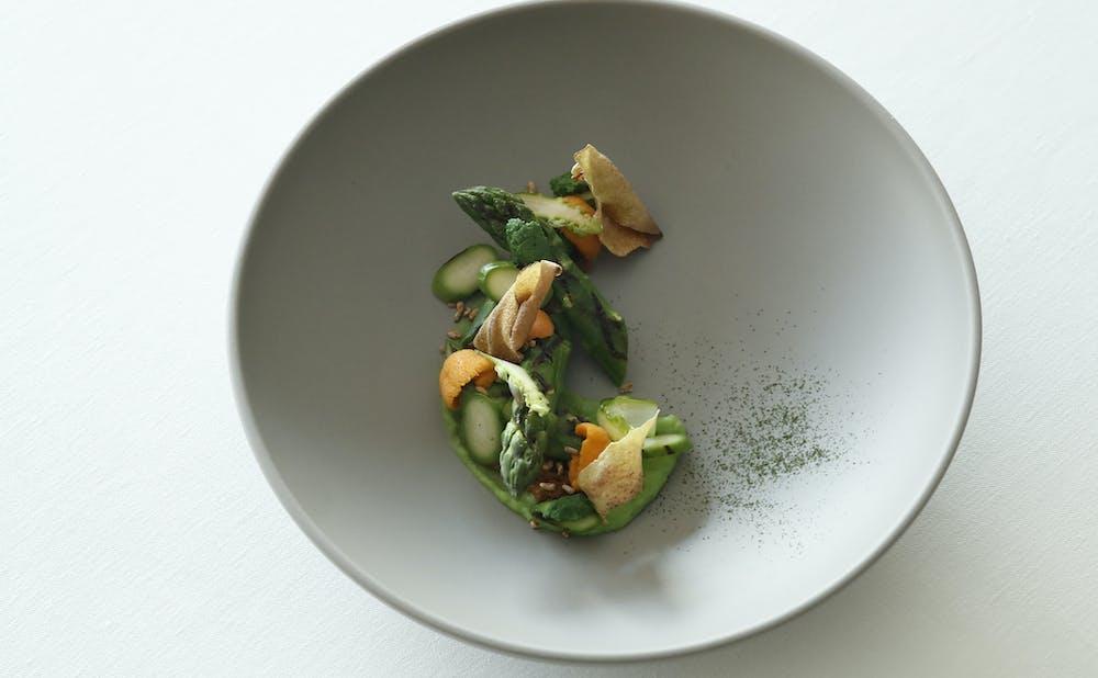 エステール/パレスホテル東京のシェフの料理