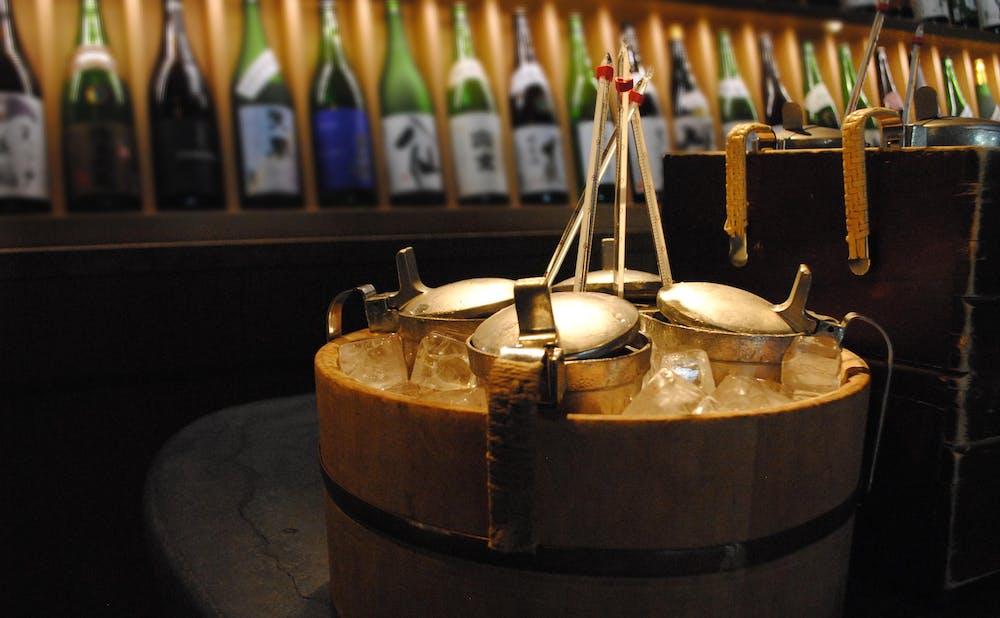 ぬる燗 佐藤の日本酒の充実したラインアップ