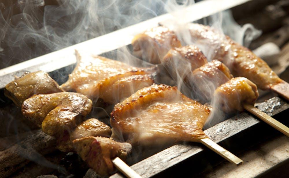 銀座 Toriya Premiumの焼き鳥
