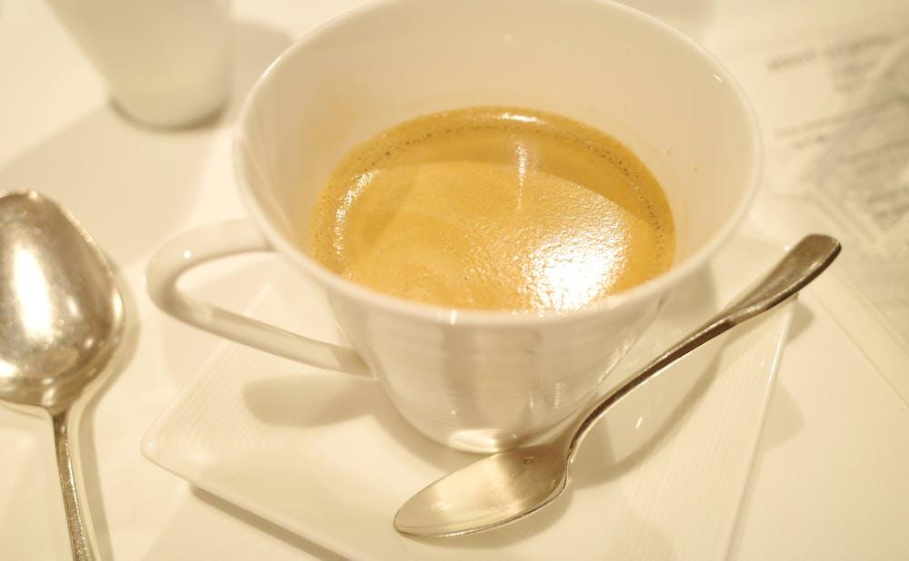 「リストランテASO」のコーヒー