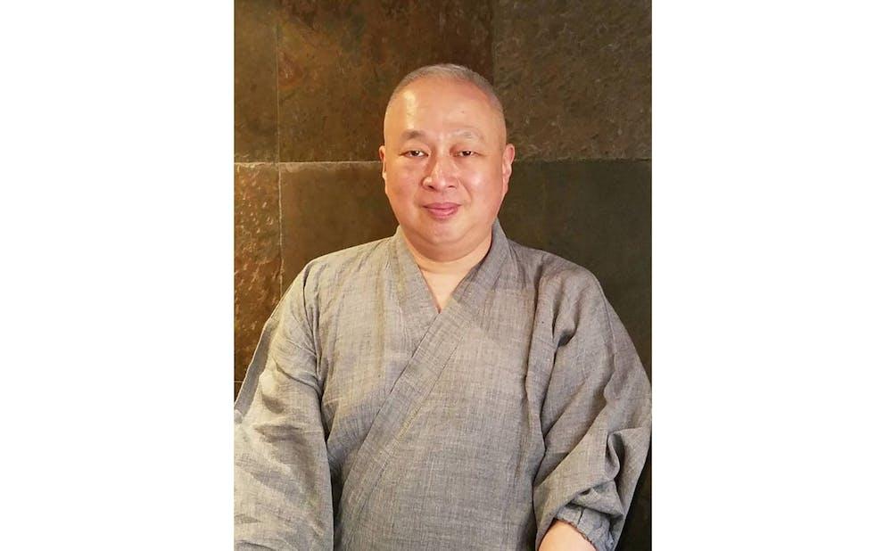 「浪速割烹 喜川」の店主・上野修氏